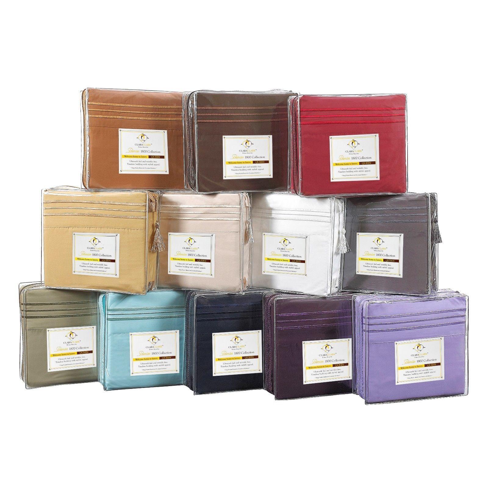 12 Pack Lot Of 12 Deep Pocket 4 Piece Bed Sheet Sets Smart Gift Idea Ebay