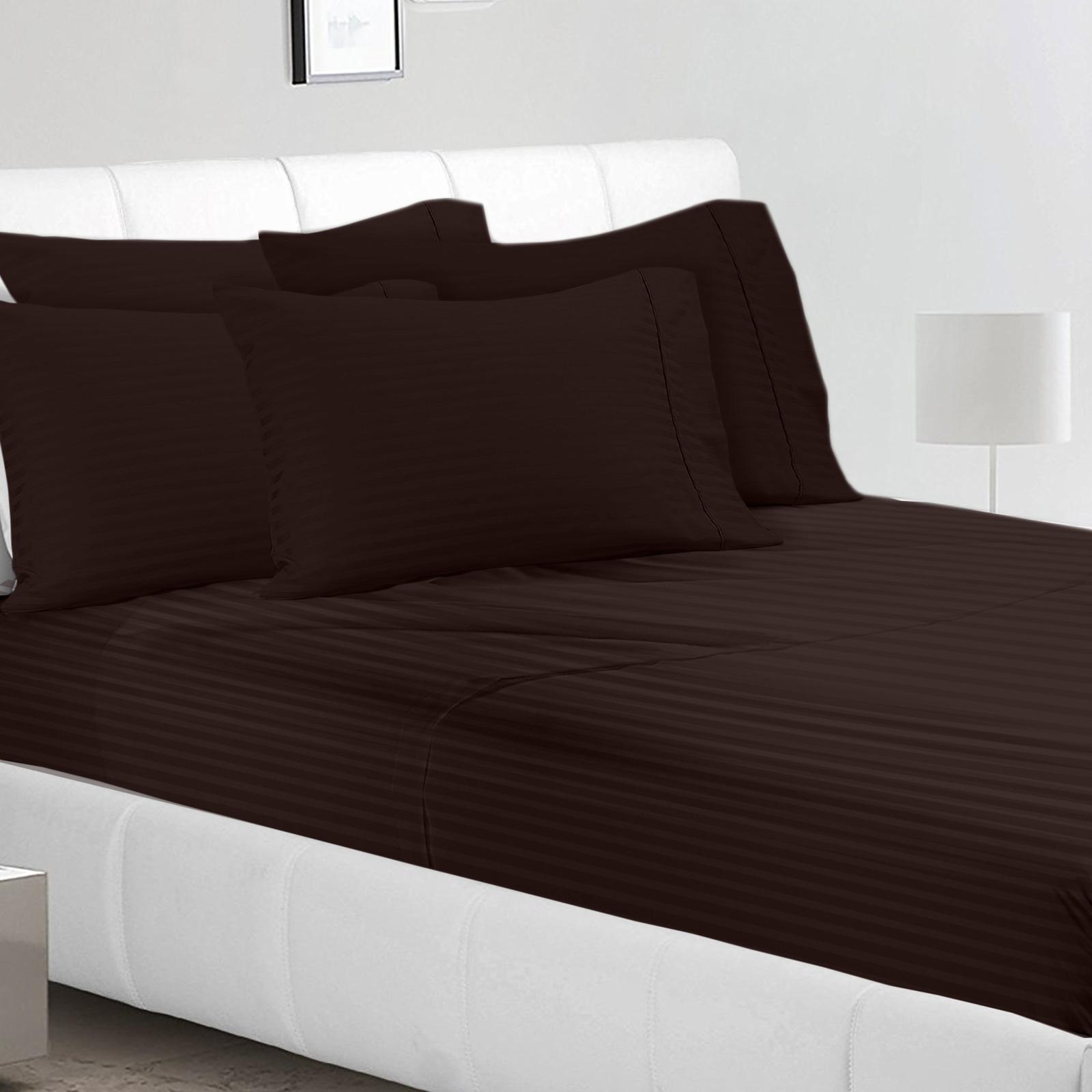 Jennifer 1800 Series 6 Piece Bed Sheet Set High Quality Hotel Edition