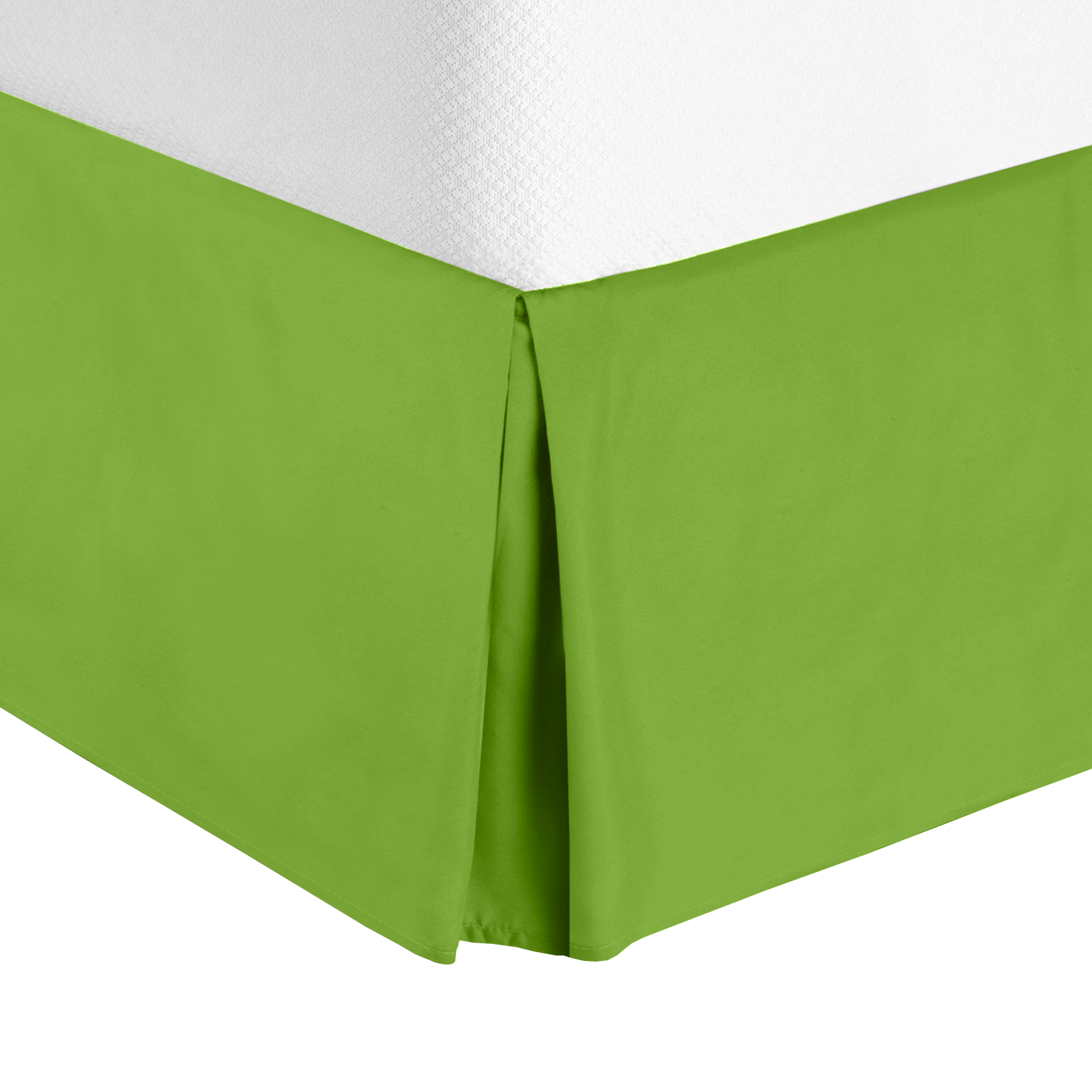 Green Bed Skirt Queen.Details About Luxury Pleated Tailored Bed Skirt 14 Drop Dust Ruffle Queen Garden Green